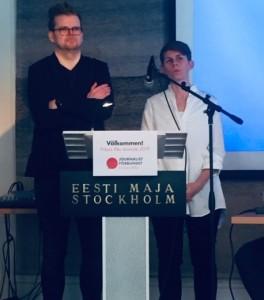 Tomas Backlund och Ulrika Hyllert
