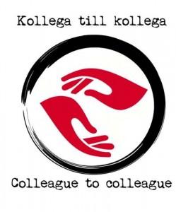 Kollega till kollega, logotyp