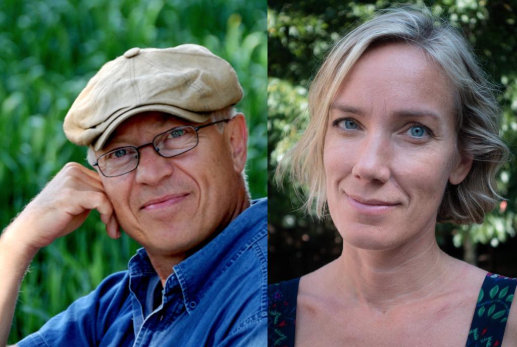 Roland Cox har utsetts till Årets frilans 2020 och Monica Walldén till Årets redaktör. Foto: Yvonne Heinonen och Alexander Milanov.