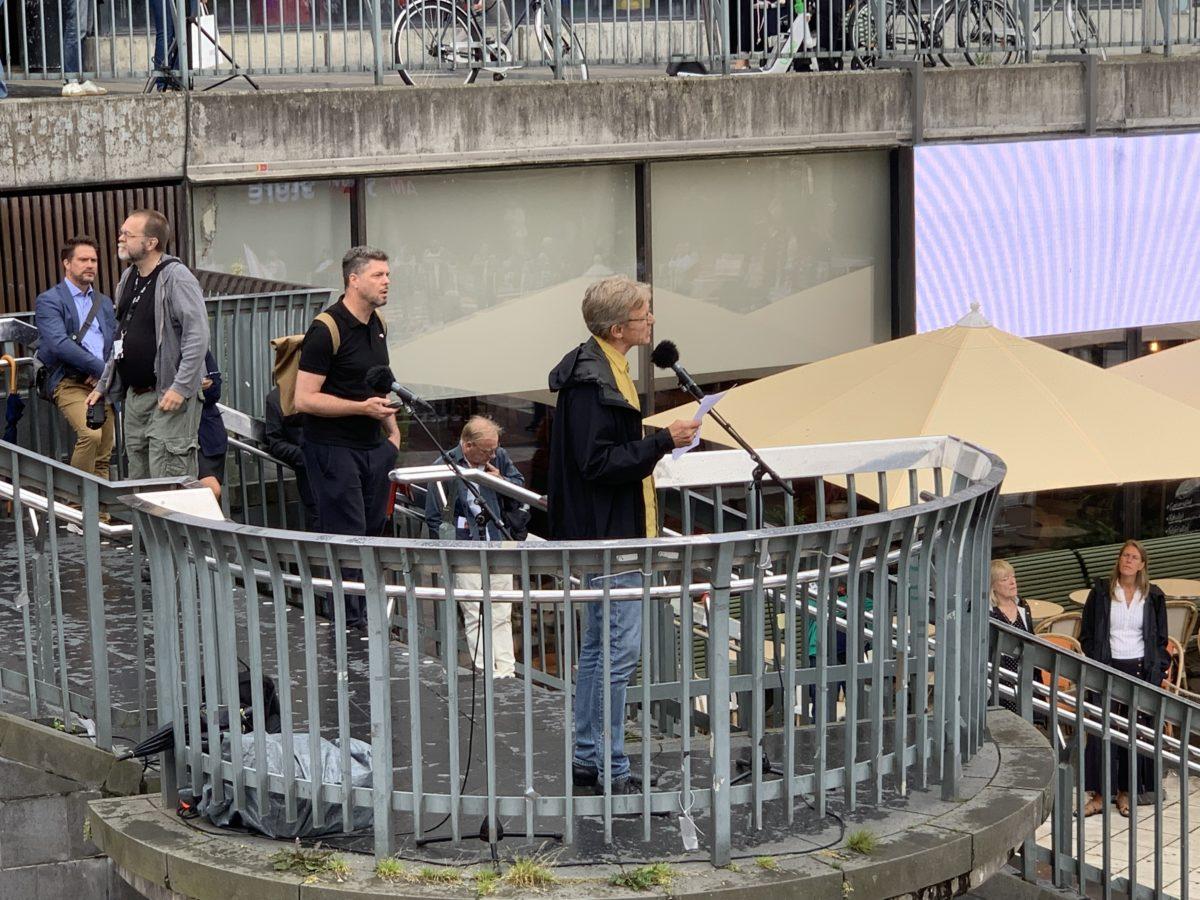 Journalistförbundet medarrangör till Belarusmaninfestation  i Stockholm 8 augusti